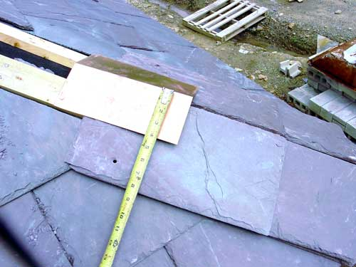 Slate Roof Central - how to install slate roof  hips and ridges