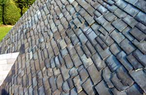 Slate Roof Central - Styles of Slate Roof Installations - Textural style slating