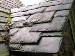 Slate Roof Central - Styles of Slate Roof Installations - textured slate roof