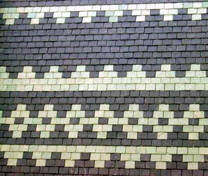 Slate Roof Central - Styles of Slate Roof Installations - pattern slating style